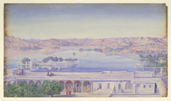 Jagniwas from the Palace, Udaipur. 'Janr. 1879'
